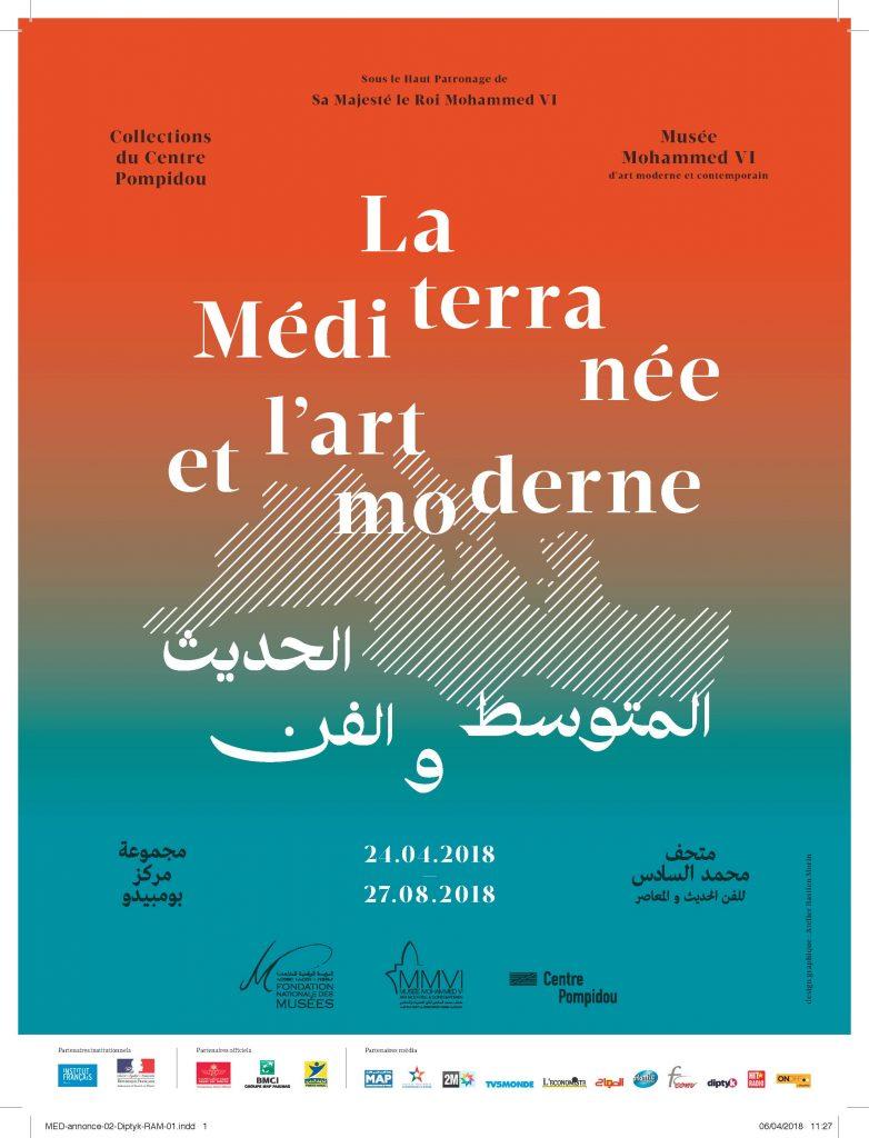Musée Mohammed VI d'art moderne et contemporain de Rabat (MMVI), l'exposition - « La Méditerranée et l'art moderne »