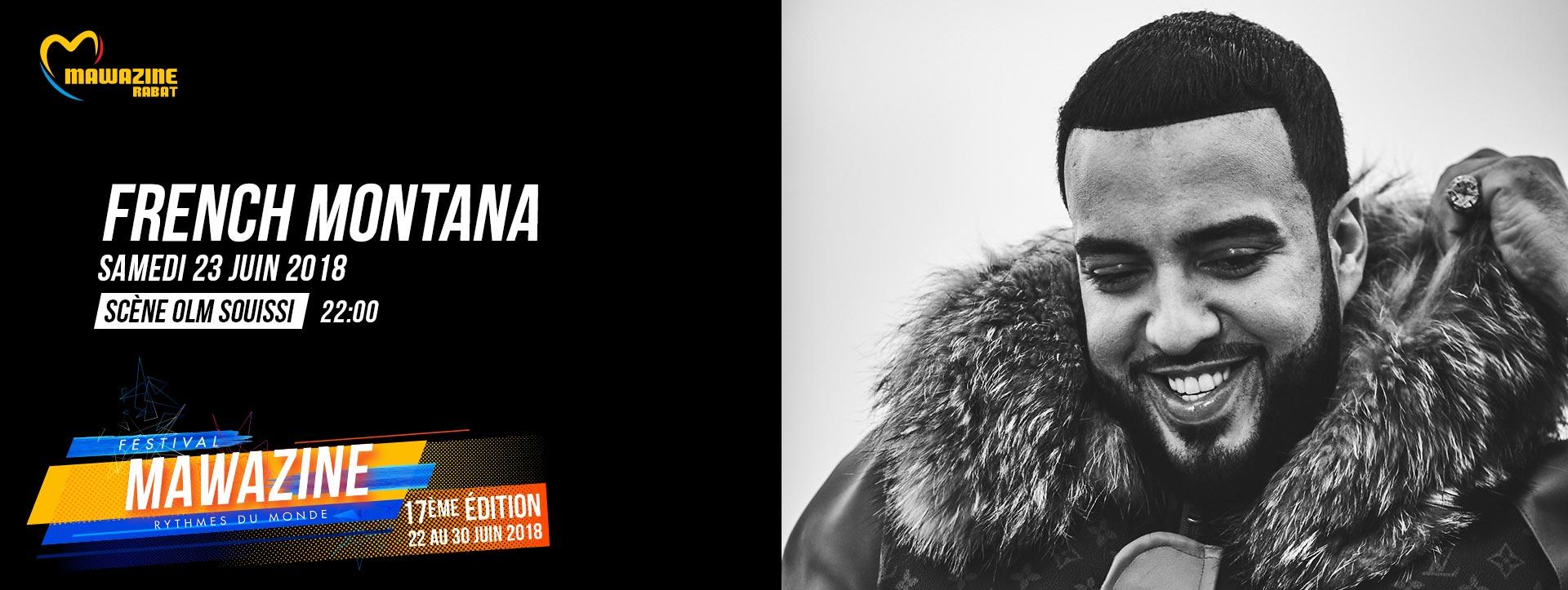 French Montana @ Mawazine 2018