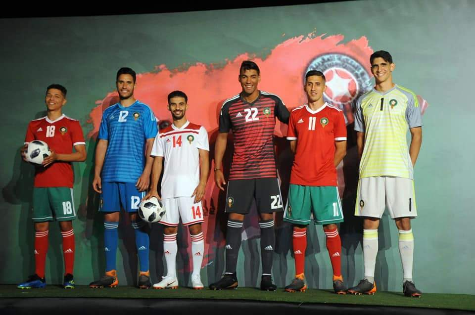 maillots maroc - adidas Football - Lions de l'Atlas