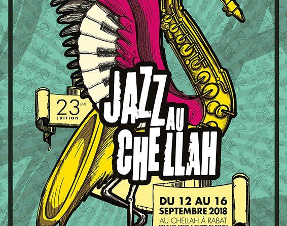 Affiche Festival Jazz au Chellah 2018